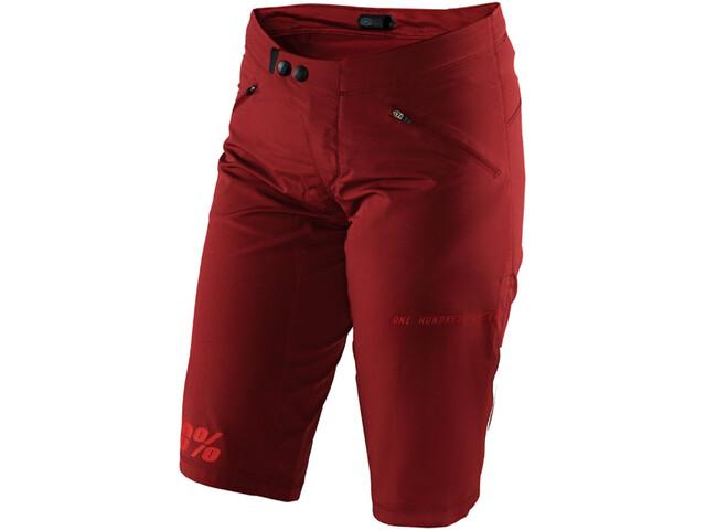 100% Ridecamp Shorts Dame brick